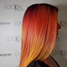 teinture flamboyante - Le lockal Spécialisation en coloration